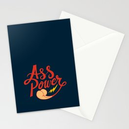 Ass Power Stationery Cards
