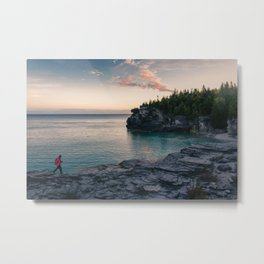 Sunrise at Bruce Peninsula National Park Metal Print
