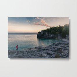 Sunrise at Bruce Peninsula National Park Metal Print
