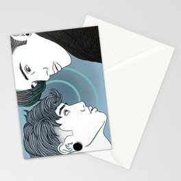 Blue Neighborhood Stationery Cards