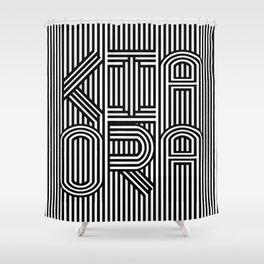 KiaOra New Zealand Greeting (Square) Shower Curtain