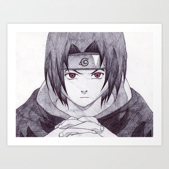 Sasuke Uchiha Art Print