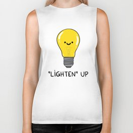 LIGHTEN up Biker Tank