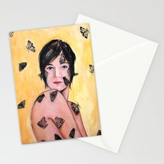 Attraction/Repulsion {Moths} Stationery Cards