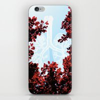 lungs iPhone & iPod Skins featuring Lungs by Keka Delso