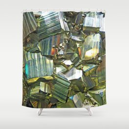 Pyrite Shower Curtain