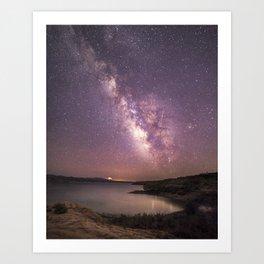 A Million Stars Art Print