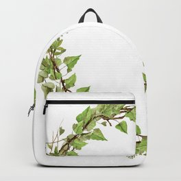 Geenery Wreath Backpack