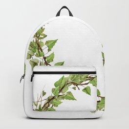 Geenery Wreath Backpack