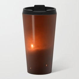 Solar Eclipse over Somerset, 2015 Travel Mug