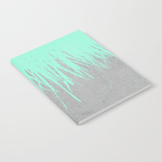 Fringe Concrete Mint Notebook