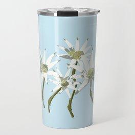 Flannel Flowers Actinotus helianthi Travel Mug