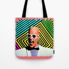 MAX HEADROOM  |  80's Inspiration Tote Bag