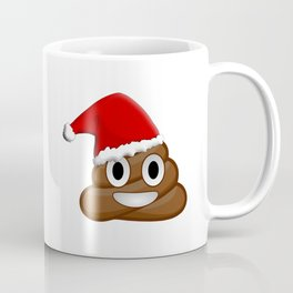 Christmas poop emoji Coffee Mug