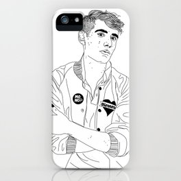 Álex Anwandter iPhone Case