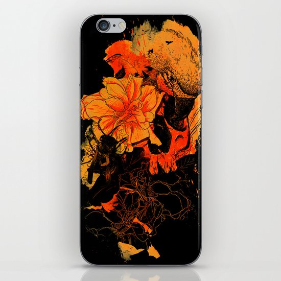 Pollination Dark Fire iPhone & iPod Skin