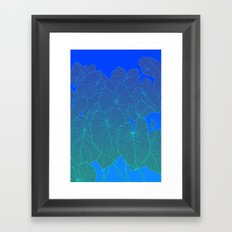 backyard Framed Art Print