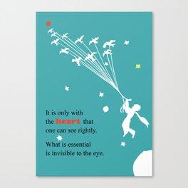 LITTLE PRINCE -Le petit prince- art poster Canvas Print