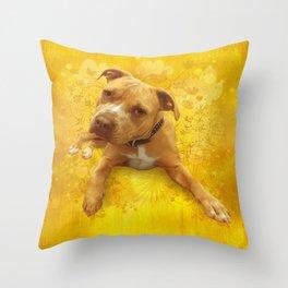 CHENiLLE (dandilion) Throw Pillow