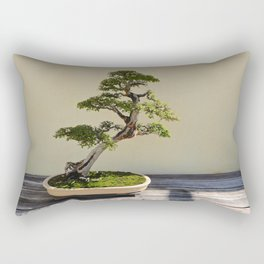 Bonsai Bonanza Rectangular Pillow
