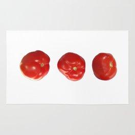 Vegetable tomatoes for the kitchen, Tomato poster Kitchen-art Rug