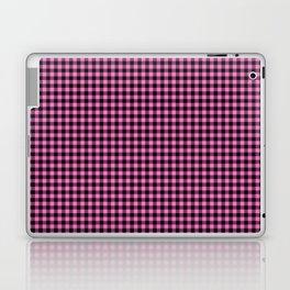 Mini Black and Pink Cowboy Buffalo Check Laptop & iPad Skin