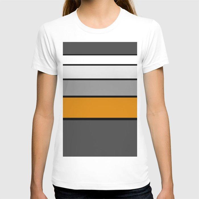 GREYSCALE STRIPES T-shirt