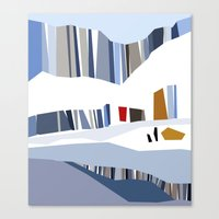 iceland Canvas Prints featuring iceland by frameless