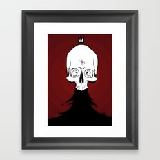 Nevar, King of the Dead Framed Art Print