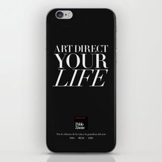 Art direct your life (Piece 05/08) iPhone & iPod Skin