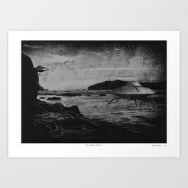 The Porth Landings Art Print
