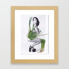 Dress Marion Framed Art Print