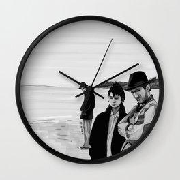 Stranger than Paradise Illustration Wall Clock