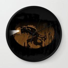 oil monster Wall Clock