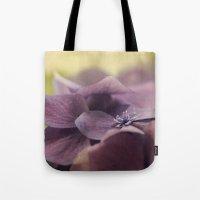 hydrangea Tote Bags featuring Hydrangea by Deborah Janke