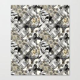 Exotic patchwork. Canvas Print