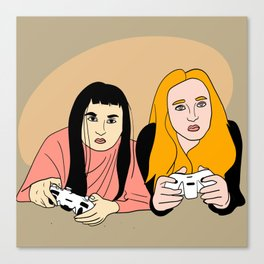 Video gaming Canvas Print
