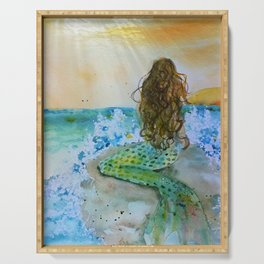 Final Joy Mermaid Serving Tray