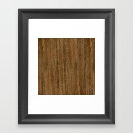 Etomie (Flat Cut) Wood Framed Art Print