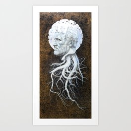 """The End of Reason II"" Art Print"