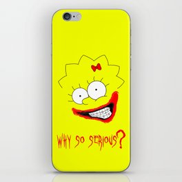 Braces are Serious iPhone Skin