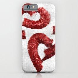 Broken Heart Mosaic iPhone Case