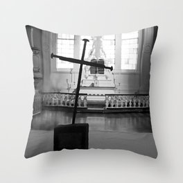 St. George's Cross Throw Pillow