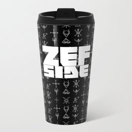 Zef Side Design Metal Travel Mug