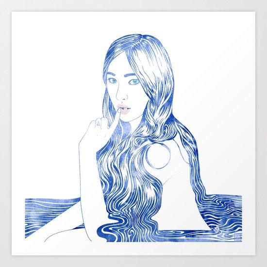 Water Nymph XCVI Art Print