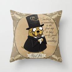 Honest Jake Throw Pillow