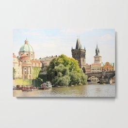 Beautiful Prague Metal Print