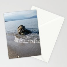 Rock on the Seashore Stationery Cards
