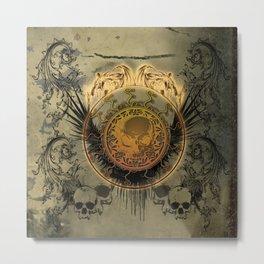 The skulls Metal Print