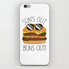 Sun's Out Buns Out! iPhone Skin
